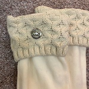Michael Kors boot sock brand new